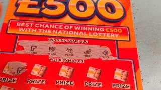 Wow!..... WINNING Scratchcards...Millionaire 7's..FAST 500.and More