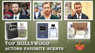 Hollywood Male Actors Favorite Perfumes - 28 Hollywood Actors Favorite Perfumes/Colognes/Scents