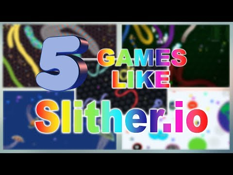 TOP 5 GAMES LIKE SLITHER.IO