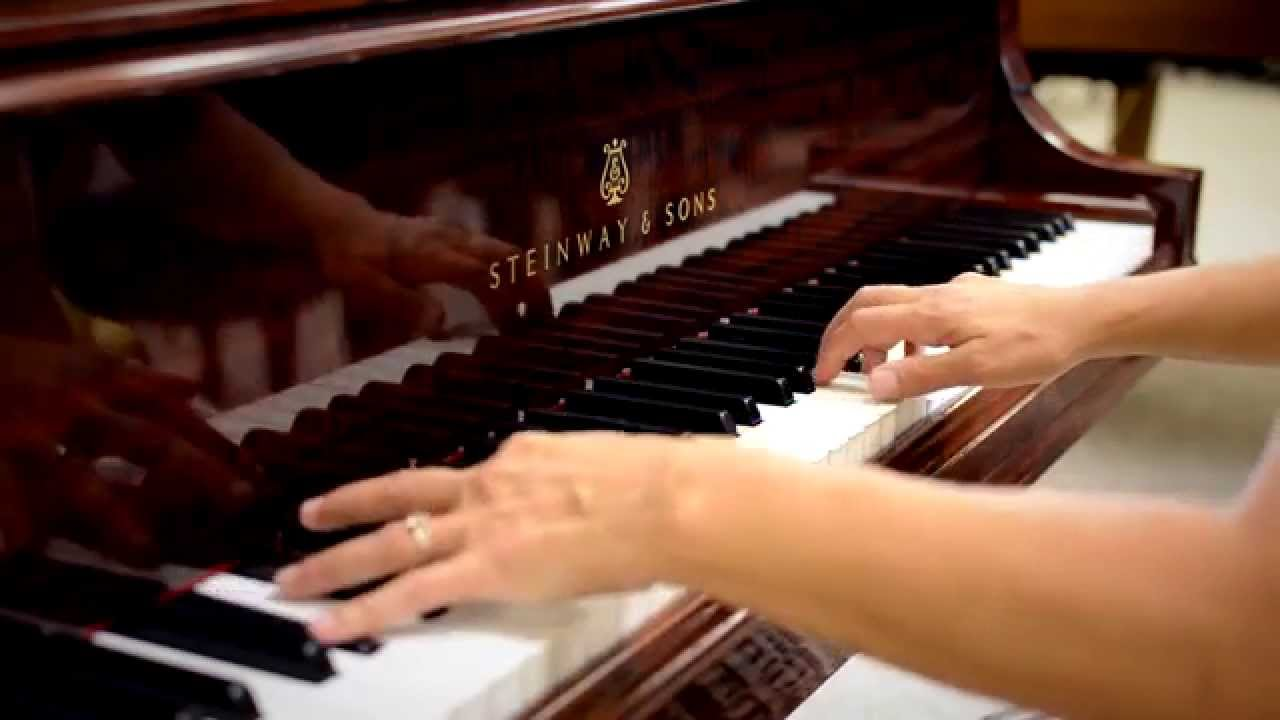 reverie by debussy steinway sons model b grand piano hd youtube