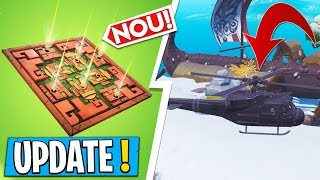 * NEW * Fortnite Update | The trap with POISON, helicopter, Patch 8.20