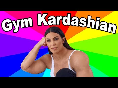 What is gym kardashian? A look at the buff kim kardashian twitter meme