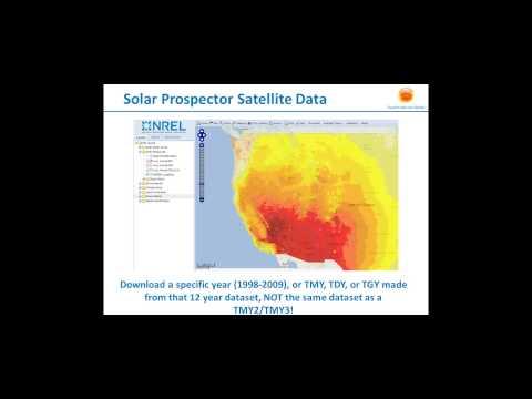Solar Resource Data 101