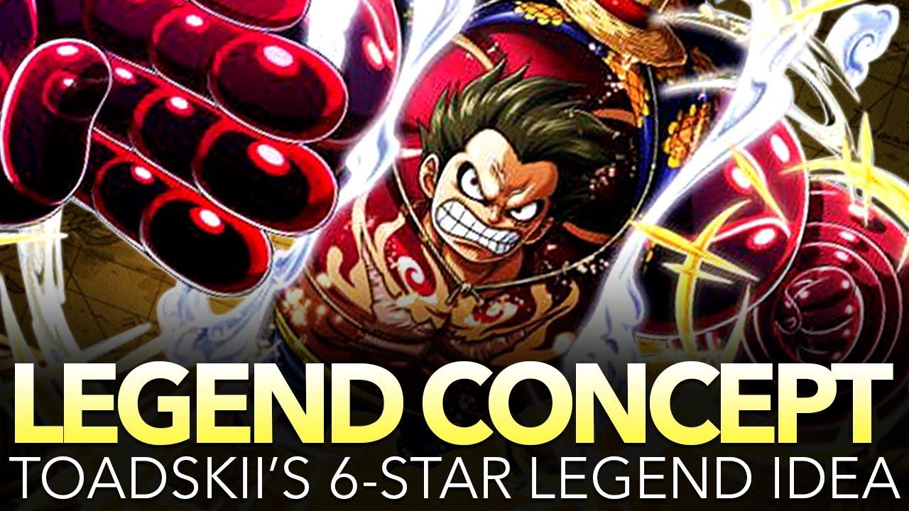 One piece treasure cruise luffy gear 4. Toadskii S 6 Legend Gear 4 Luffy Concept One Piece Treasure Cruise Youtube