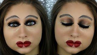 Inverted Makeup Challenge | Reverse Makeup Challenge | Weird Makeup Tutorial | Beautybyjosiek