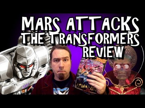 Mars Attacks The Transformers Review