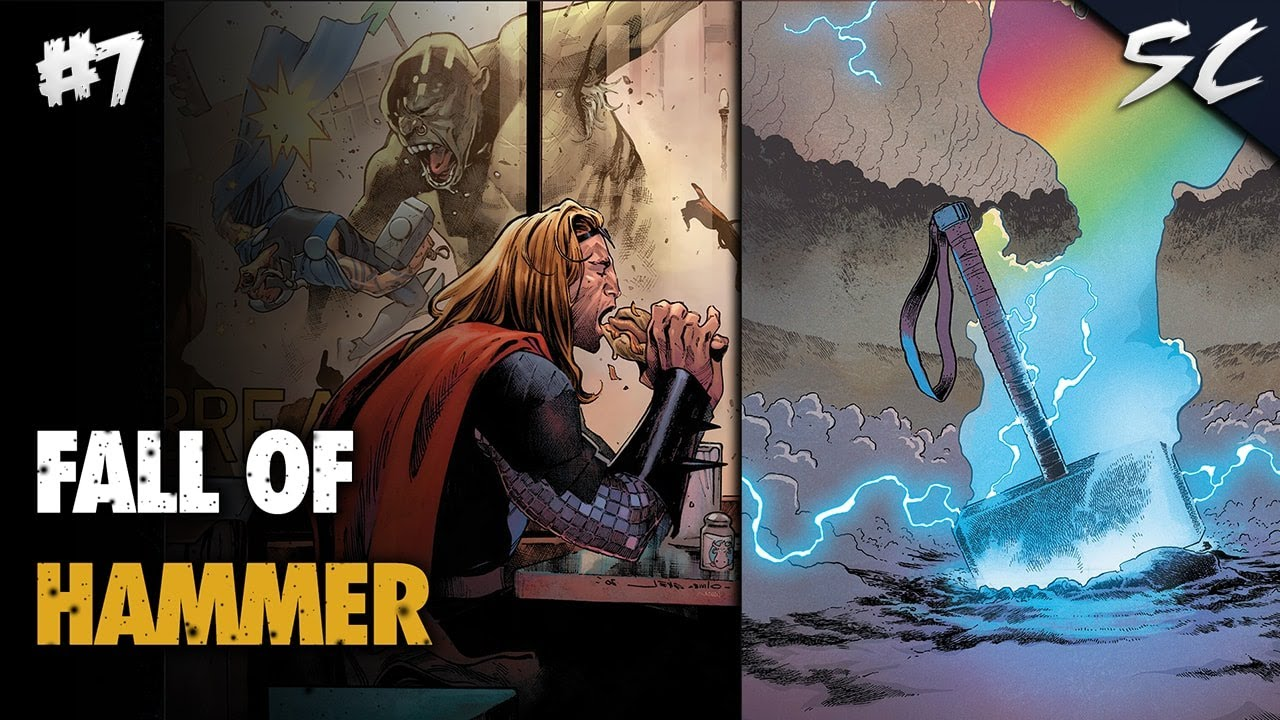 Fall of Hammer - Cosmic King Thor #7 | Explained In Hindi