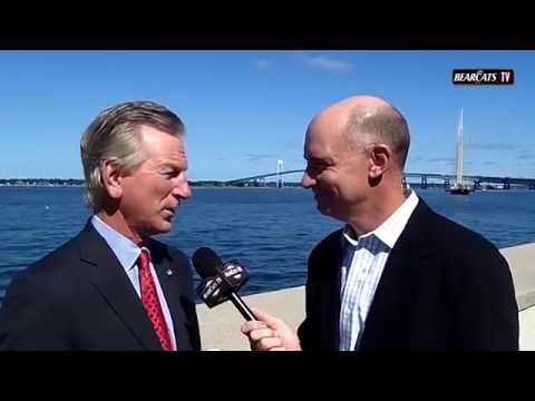 American Football Media Day 2014: Tommy Tuberville Interview