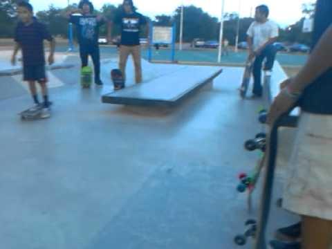 Skating at Palo alto