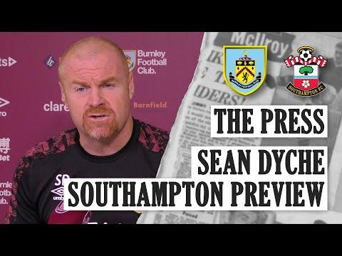 Sean Dyche | THE PRESS | Burnley v Southampton 2020/21