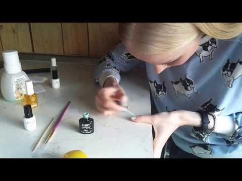 Быстрый маникюр с покрытием гель лак в домашних условиях