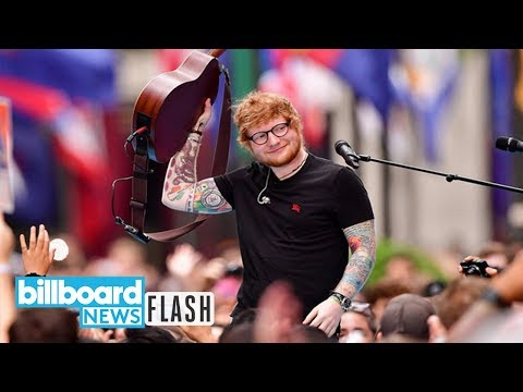 Ed Sheeran's 'Shape of You' Surpasses 'One Dance' as Spotify's Most-Streamed Song | Billboard News