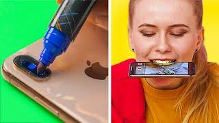 TRIK FOTO DAN VIDEO TIK TOK || Ide dan Trik DIY Genius oleh 123 GO! GOLD