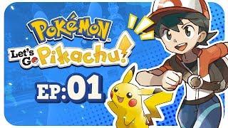 A NEW KANTO ADVENTURE!!! - Pokemon Let's Go Pikachu: Part 1 Nintendo Switch Gameplay Walkthrough