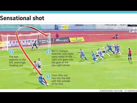 Faiz Subri All time Best Goal in the world - Pusk