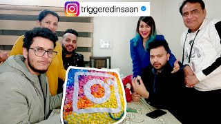 Triggered Insaan's Instagram Verification Party @Triggered Insaan