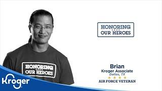 Honoring our Heroes Veteran Brian │VIDEO │Kroger