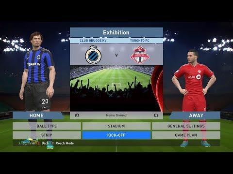 Club Brugge KV vs Toronto FC, Jan Breydel Stadion, PES 2016, PRO EVOLUTION SOCCER 2016