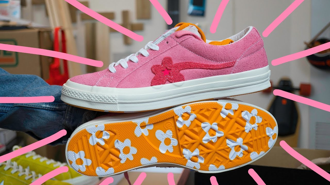 *MUST COP* Golf Le Fleur X Converse One Star Geranium Pink Review