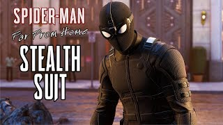 SPIDER-MAN - Far From Home Stealth Suit Gameplay (PS4) @ 1440p ᴴᴰ ✔