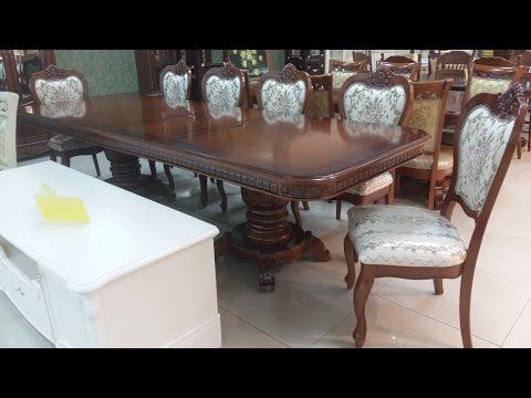 Обеденные столы и стулья Малайзия. Стол Daming 718 + стулья Classic 8014С обивка Х