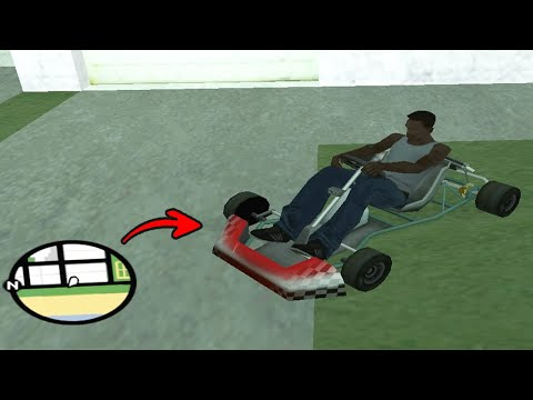 Secret Kart Car Location In GTA San Andreas (Hidden Place)
