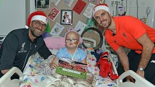 Liverpool FC spread Christmas cheer at Alder Hey Children