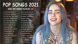 Download Pop Hits 2021   Maroon 5, Rihanna, Dua Lipa, Bruno mars, Ed Sheeran, Ava Max, Ariana Grande