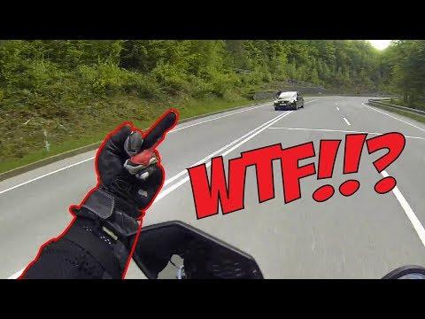 CRAZY ANGRY PEOPLE vs BIKERS    MOTORCYCLE ROAD RAGE [Ep. #152]