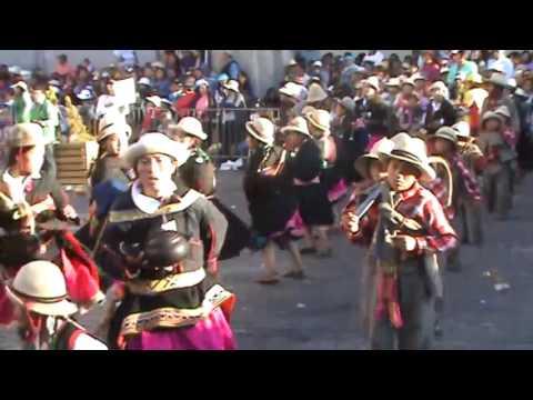 Danza Yapuy de Puyca Pasacalle Arequipa 2016