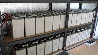 Solar 48 volt Off Grid / Hybrid System. Installing a New Battery Bank