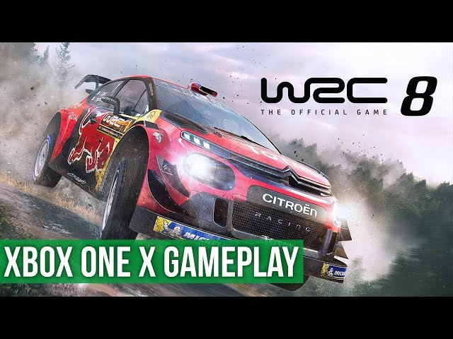 WRC 8 ► Xbox One X Gameplay / Preview