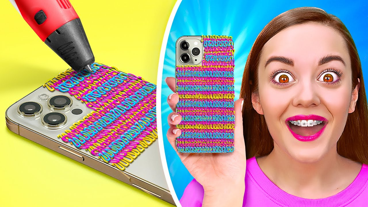 AWESOME 3D PEN CRAFTS || Funny ideas and DIYs by 123 Go! Live