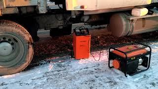 видео техпомощь запуск двигателя подзарядка