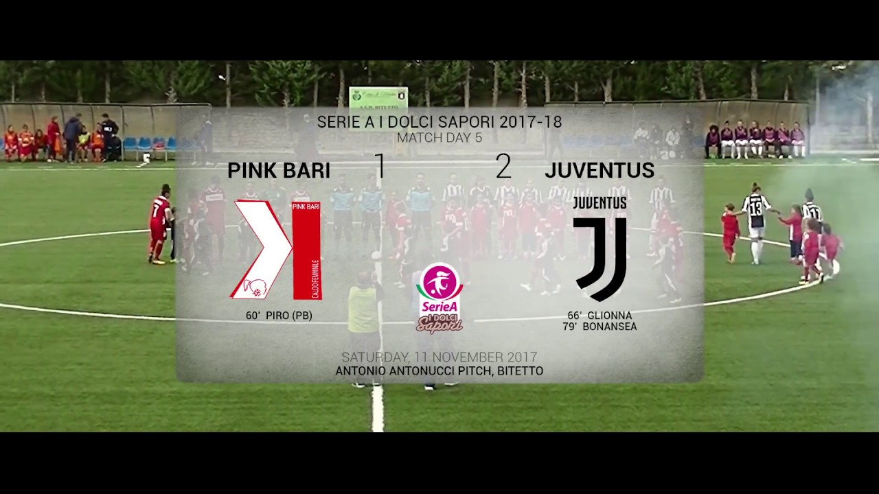 Pink Bari vs Juventus Women