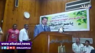 بالفيديو والصور..محافظ أسيوط يكرم 300 طالب وطالبة من المتفوقين