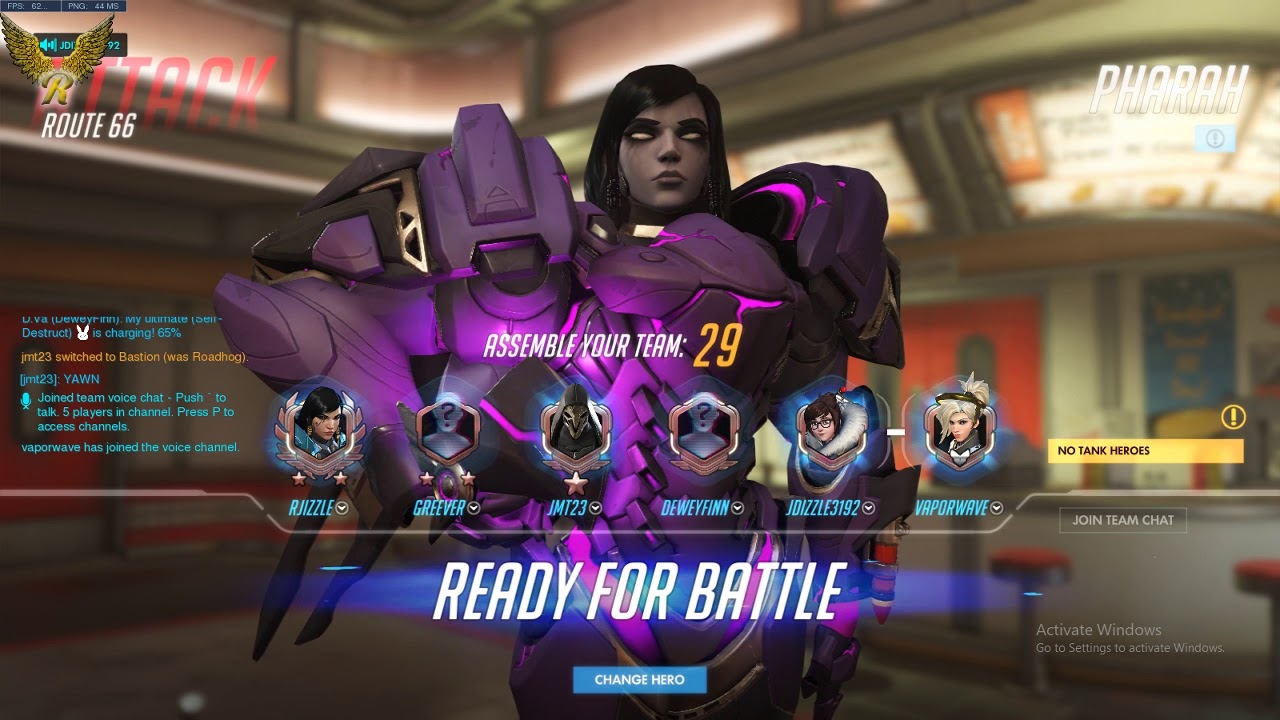matchmaking ranked overwatch