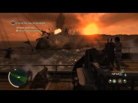 Assassin's Creed 3 PC - Naval Battle