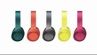 sony headphones h ear on wireless nc official product video