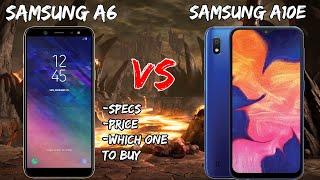 Samsung Galaxy A6 Vs Samsung A10e Spec and Price Comparison//Boost Mobile