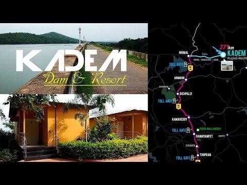 Kadem Project Adilabad | Kadem Dam & Resort | Best Tourist Place in Telangana