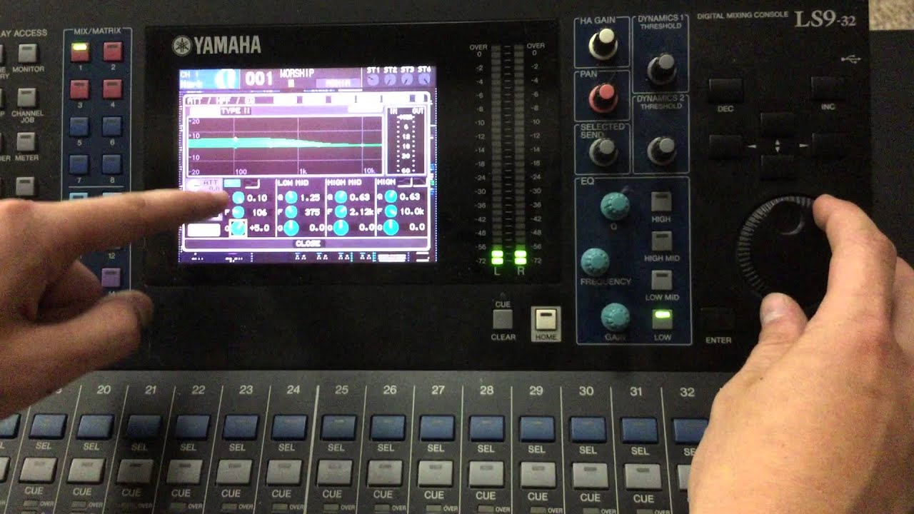 eq basics of the yamaha ls9 32 equalizer youtube rh youtube com Yamaha LS9- 16 Yamaha LS9-32 Guide