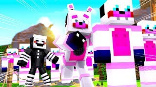 Capturing The Funtime Freddy Clones! Minecraft FNAF Roleplay