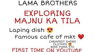 hidden gem of delhi MAJNU KA TILA | Laping dish | Cheapest shoes and clothes |