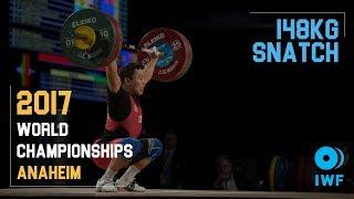 Jeongsik Won | 148kg Snatch