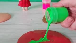 Slime Deneyi Yapıyoruz Renkleri Karıştırıyoruz Eğitici Videolar