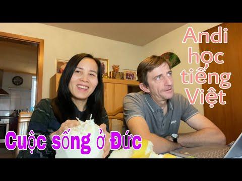 Lấy chồng Tây | Andi học nói tiếng Việt | cuộc sống thôn quê nước Đức | Cuộc sống ở Đức
