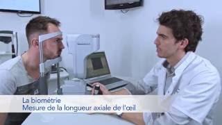 Le test d'aptitude au laser à New Vision