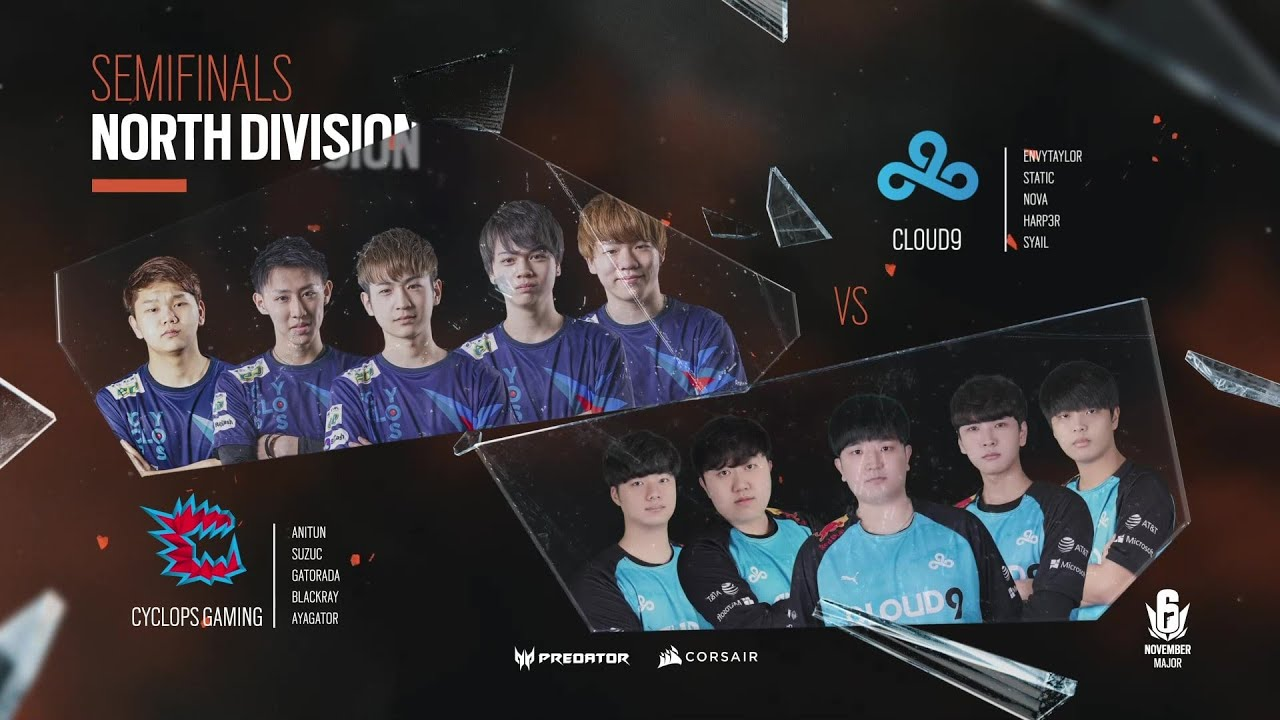 Cloud9 vs CAG // November Six Major 2020 – North Division Semi-Final