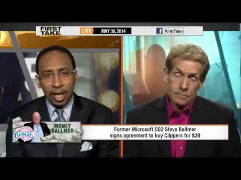 Steve Ballmer Buys the Clippers for $2 Billion!    ESPN First Take